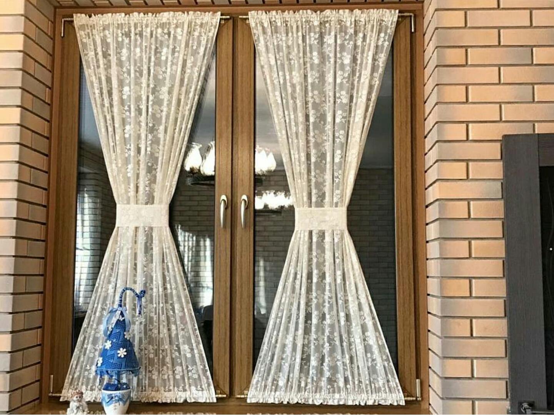 мужские на дачу тюль шторы внутри окна фото для фото